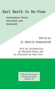 Karl Barth in Re-View - Eberhard Busch - cover