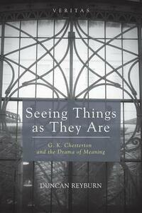 Seeing Things as They Are - Duncan Reyburn - cover