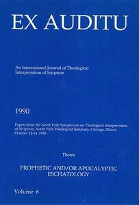 Ex Auditu - Volume 06: An International Journal for the Theological Interpretation of Scripture - cover