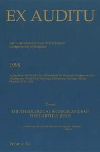 Ex Auditu - Volume 14: An International Journal for the Theological Interpretation of Scripture - cover