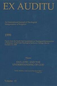 Ex Auditu - Volume 15: An International Journal for the Theological Interpretation of Scripture - cover