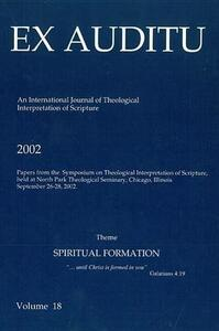 Ex Auditu - Volume 18: An International Journal for the Theological Interpretation of Scripture - cover
