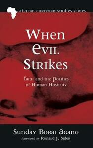 When Evil Strikes - Sunday Bobai Agang - cover