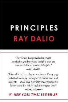 Principles: Life and Work - Ray Dalio - cover