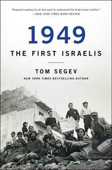 1949 the First Israelis - Tom Segev - cover
