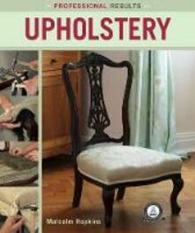 Professional Results: Upholstery - Malcolm Hopkins - cover