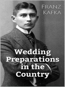 Wedding Preparations In The Country