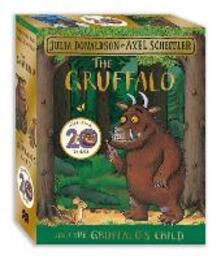 The Gruffalo and the Gruffalo's Child Board Book Gift Slipcase - Julia Donaldson - cover