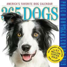 2019 365 Dogs Colour Page-A-Day Calendar - Workman Publishing - cover