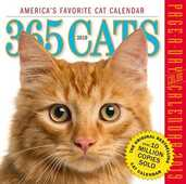 Libro in inglese 2019 365 Cats Colour Page-A-Day Calendar Workman Publishing