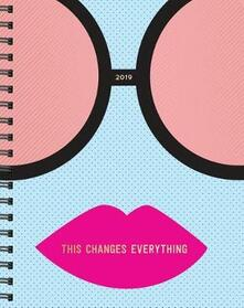 2019 Pipsticks This Changes Everything Planner - cover