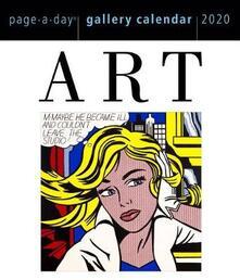 2020 Art Page-A-Day Gallery Calendar - Workman Calendars - cover