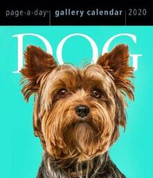 2020 Dog Page-A-Day Gallery Calendar - Workman Calendars - cover