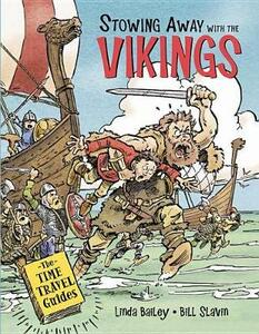Stowing Away with the Vikings - Linda Bailey - cover
