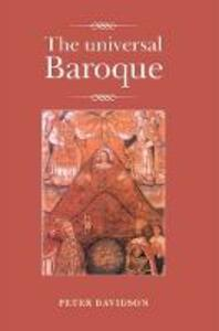 The Universal Baroque - Peter Davidson - cover