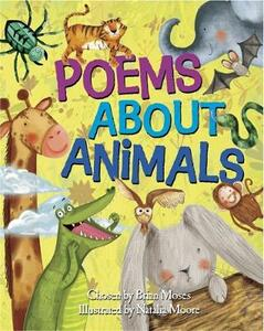 Poems About: Animals - Brian Moses - cover