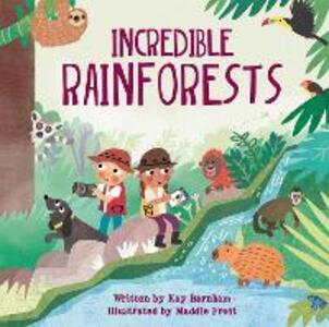 Look and Wonder: Incredible Rainforests - Kay Barnham - cover