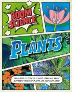 BOOM! Science: Plants - Georgia Amson-Bradshaw - cover