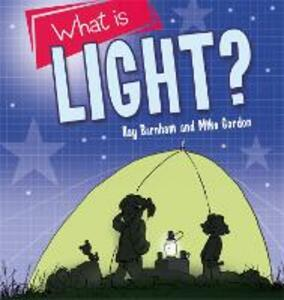 Discovering Science: What is light? - Kay Barnham - cover