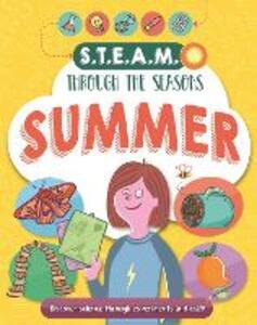 STEAM through the seasons: Summer - Anna Claybourne - cover