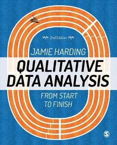 Qualitative Data Analysis: From Start to Finish - Jamie Harding - cover
