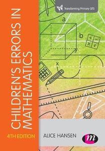 Children's Errors in Mathematics - Alice Hansen,Doreen Drews,John Dudgeon - cover