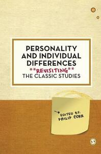 Personality and Individual Differences: Revisiting the Classic Studies - cover