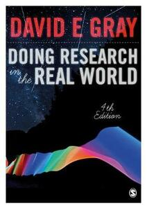 Doing Research in the Real World - David E. Gray - cover