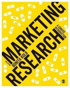 Marketing Research: A Concise Introduction - Bonita Kolb - cover