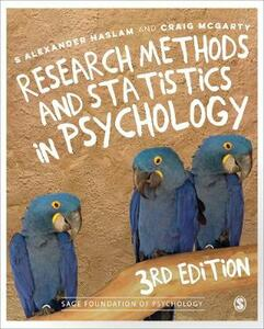 Research Methods and Statistics in Psychology - S. Alexander Haslam,Craig McGarty - cover