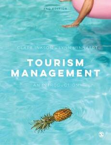 Tourism Management: An Introduction - Clare Inkson,Lynn Minnaert - cover