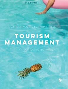 Tourism Management: An Introduction - Clare Inkson,Lynn Minnaert - cover