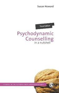 Psychodynamic Counselling in a Nutshell - Susan Howard - cover