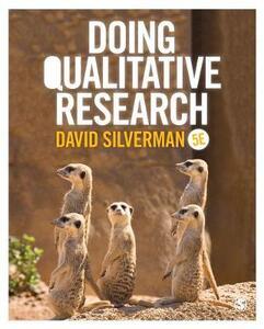 Doing Qualitative Research - David Silverman - cover