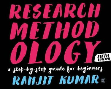Research Methodology: A Step-by-Step Guide for Beginners - Ranjit Kumar - cover