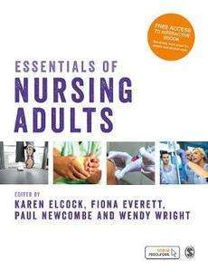 Essentials of Nursing Adults - cover