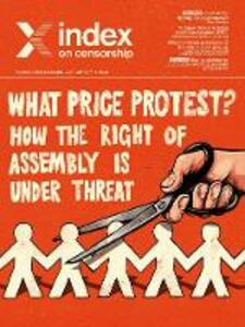 What price protest?: How the right to assembly is under threat - cover