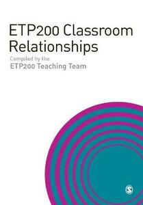 Etp200 Classroom Relationships - cover