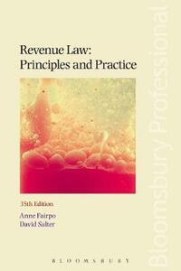 Revenue Law: Principles and Practice - Anne Fairpo,David Salter - cover