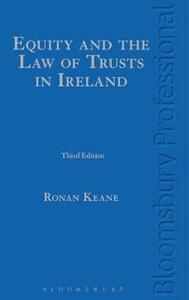 Equity and the Law of Trusts in Ireland - Ronan Keane - cover