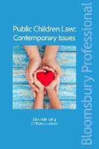 Public Children Law: Contemporary Issues - Alexander Laing,Bianca Jackson - cover