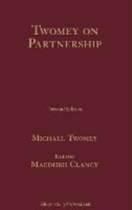 Partnership Law - Michael Twomey - cover