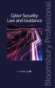 Cyber Security: Law and Guidance - Helen Wong MBE - cover