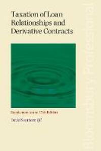 Taxation of Loan Relationships and Derivative Contracts - Supplement to the 10th edition - David Southern - cover