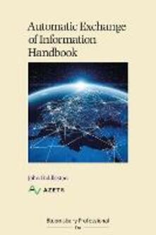 Automatic Exchange of Information Handbook - John Hiddleston - cover