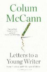 Letters to a Young Writer - Colum McCann - cover
