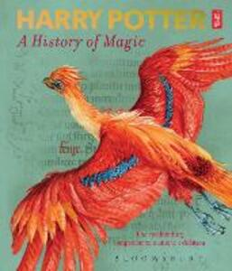 Harry Potter - A History of Magic: The Book of the Exhibition - British Library - cover