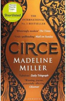 Circe - Madeline Miller - cover