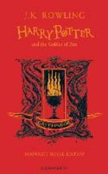 Harry Potter and the Goblet of Fire - Gryffindor Edition - J.K. Rowling - cover