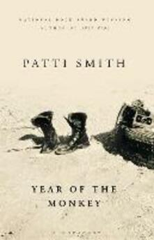 Year of the Monkey: The New York Times bestseller - Patti Smith - cover